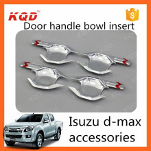 Factory price car chorme door handles plastic bowl for 2013isuzu dmax accessoris door handle bowl insert for dmax isuzu2012