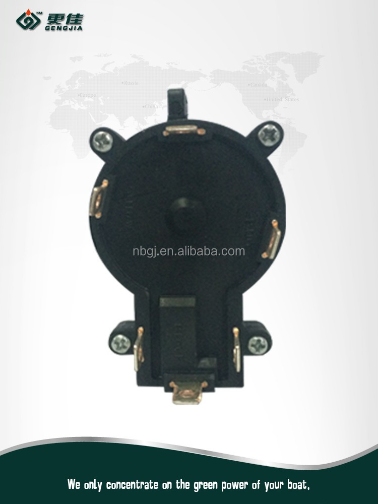 """GENGJIA"" electric trolling motor start switch / electric motor reversing switch / 3 speed motor switch"