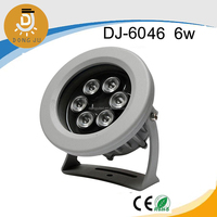 Best seller! water proof led spotlights / outdoor flood lights / par lights / stage lamp with RGB DJ-6046 6w