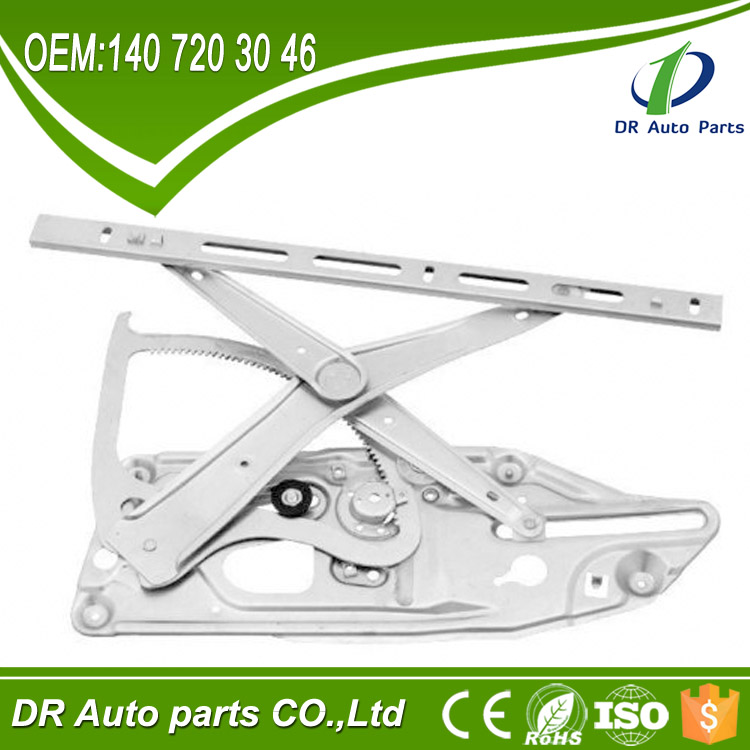 DR02 Car Spare Parts For Mercedes W140 S-Class Window Regulator 91- 99 Front Right OEM: 140 720 30 46 / 140 720 3046