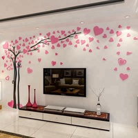 Hot selling room high quality children tree 3D wall stickers