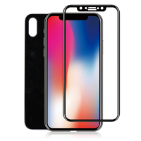 Alibaba Best Sellers Strong Hardness Bulletproof 3D 0.3MM Screen Protector Tempered Glass For iPhone X ^