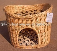 Delicate Wicker dog house dog cage pet house