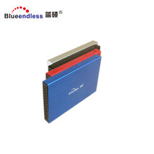 "480Mbps USB 2.0 to SATA External Aluminum 2.5"" HDD Enclosure / 9.5mm Hard Drive Case Chipset MA6116 Support 2TB Capacity"
