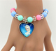 Latest wholesale cartoon bead bracelet kids bracelet