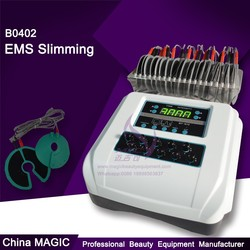 2014 cheaper Ten EMS Muscle Stimulator electric slimming cellulite body massage