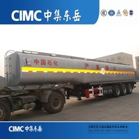 CIMC Stainless Steel Insulated Tanker Semi Trailer