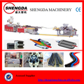 Protecting electric wire and cable pipe extrusion machine