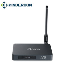 Super Android quad core tv box X5 Supports SATA 3.0 DVR Digital DDR4 2GB +16GB google tv box X5 RTD1295 Dual Wifi ott tv box