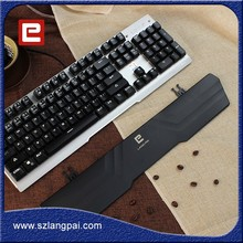 104 Keys USB Wired Mechanical Gaming Keyboard with Tactile Anti-ghosting RGB Keyboard Brown Switches