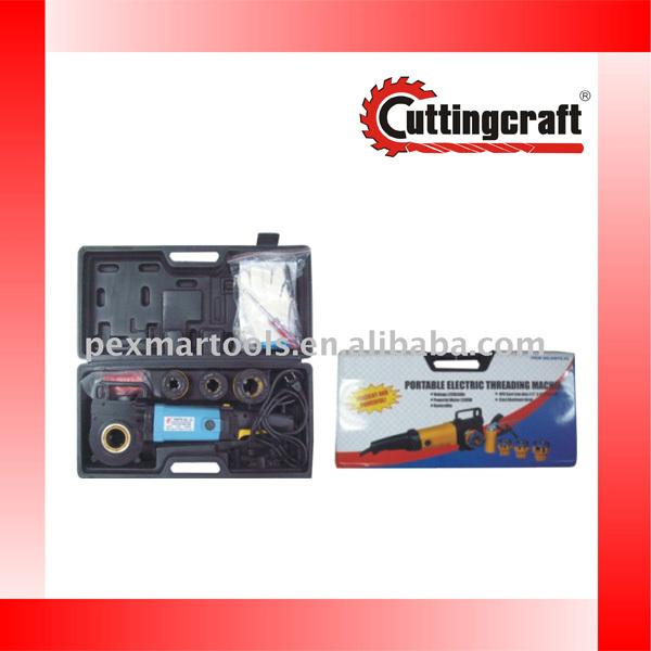portable bolt threading machine