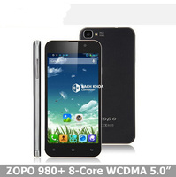 "Original ZOPO ZP980+ Android 4.2 MTK6592 Octa Core 1.7GHz 2GB RAM 16GB ROM 5""inch 4MP zp980 3G mobile phone"