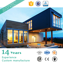 German luxury prefabricated modular house design with quick erection from China supplier