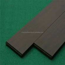 2017 USA hot sale stained black bamboo flooring