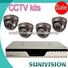 cctv complete systems with network mobile monitoring
