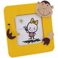 Custom made children picture frame , cartoon soft PVC photo frame
