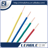 power station copper core silicone electric wire and electrical wire and cable / electric wire multiple usage