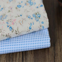 Polyester Cotton Printed Woven Fabric for Dresses