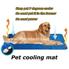 Excellent quality Extra large size xxxl pet cooling beds aldi dog cool mat with SGS MSDS REACH certification