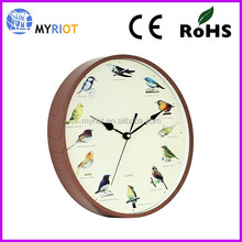 Bird Sound Wall Clocks Plastic Wall Clocks