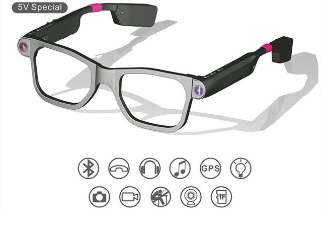smart glasses phone hd camera bluetooth similar as snapchat spectacles