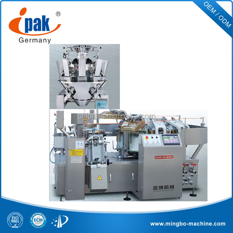 Quinoa Vacuum Packaging Machine with multi-head weigher