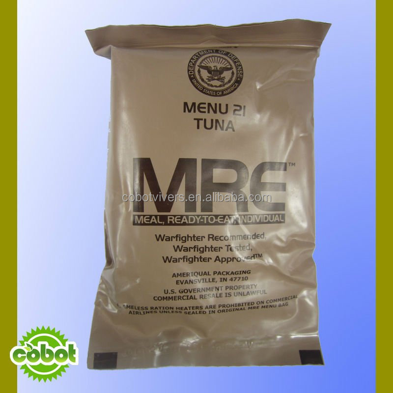 Rescue ration / emergency ration / MRE