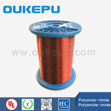 2017 most popular round color solderable enamelled copper wire for transformer factory use