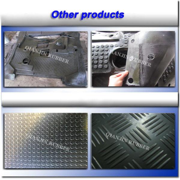 Jc Damping Vibration Isolating Rubber Damper Rubber