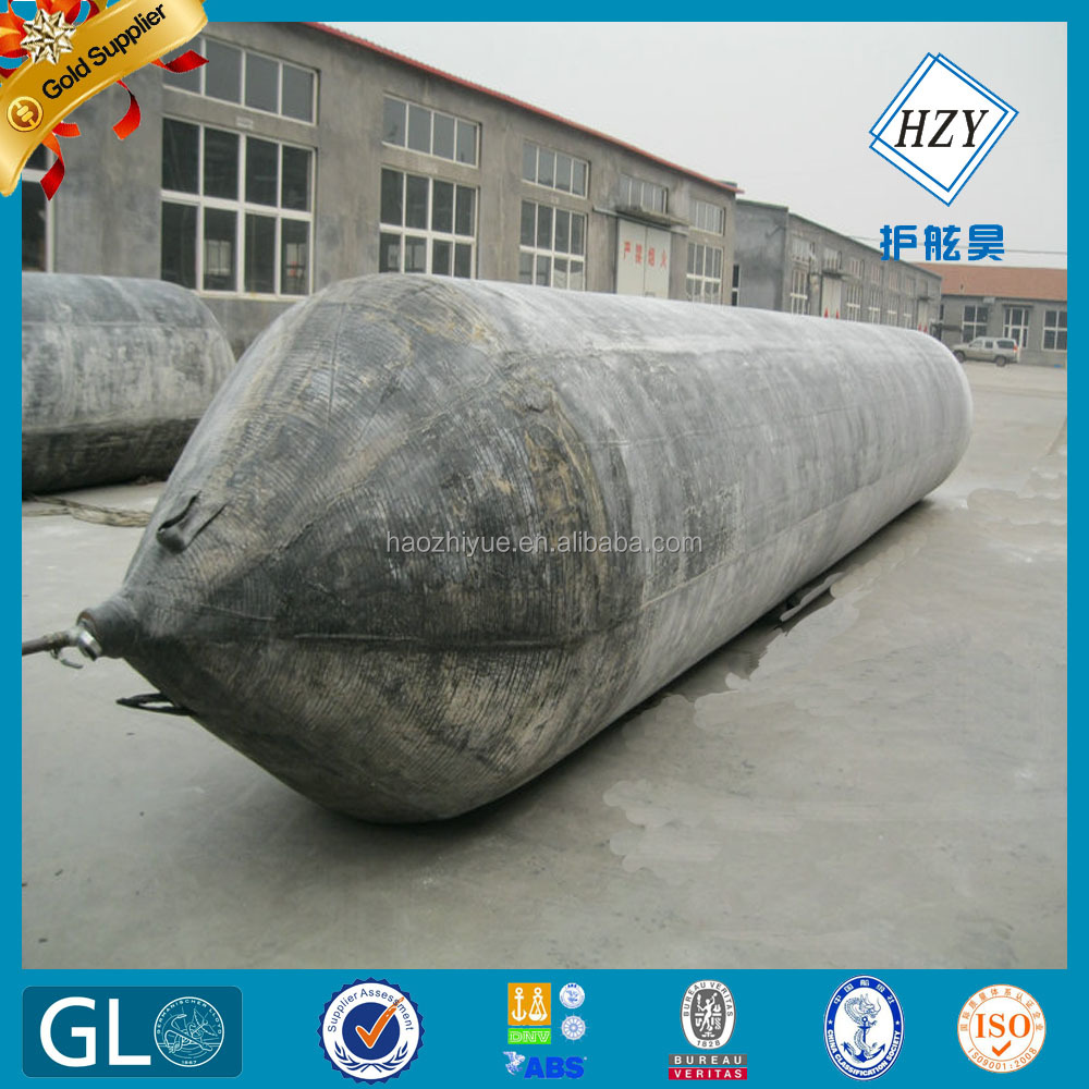 High pressure rubber balloon for vessel landing and launching / airbags for boat