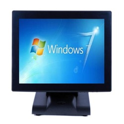 "With stable metal base 12"" touchscreen 19 inch square lcd monitor"