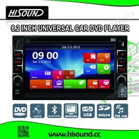 universal and good quality car radio cassette cd player with gps / aux / dvd / rds / mp3