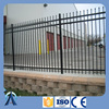 Ornamental iron fence Galvanized Powder Coated Used Wrought Iron picket Fencing For Sale