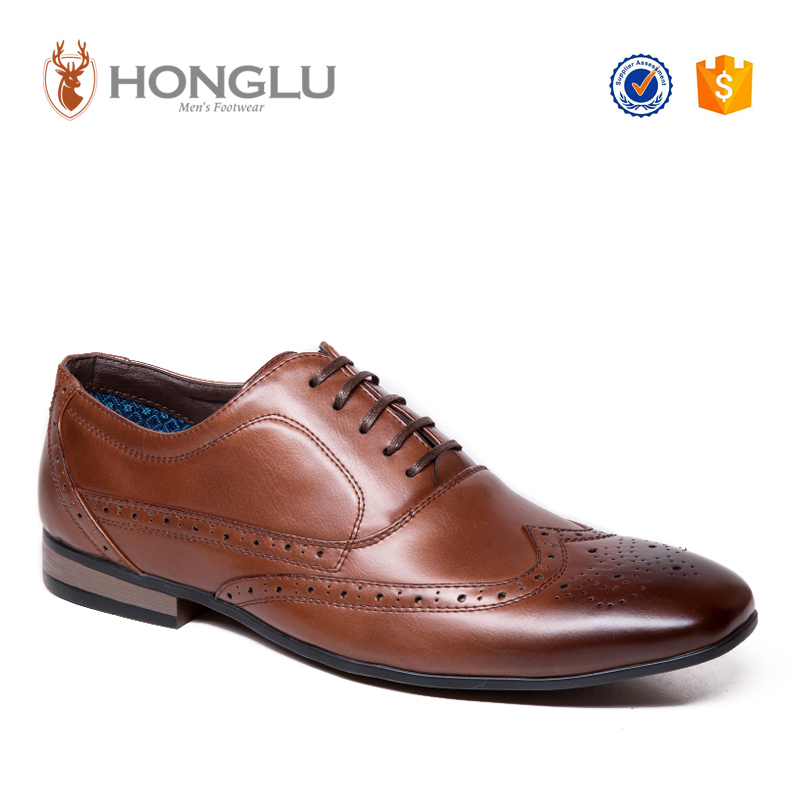 Oem Factory Brand Men Dress Shoes, Classic Men Brogue Shoes, Designer Men Oxford Shoes