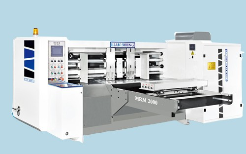 MRM Series Non-pressed feeding rotary cutting Carton Machine