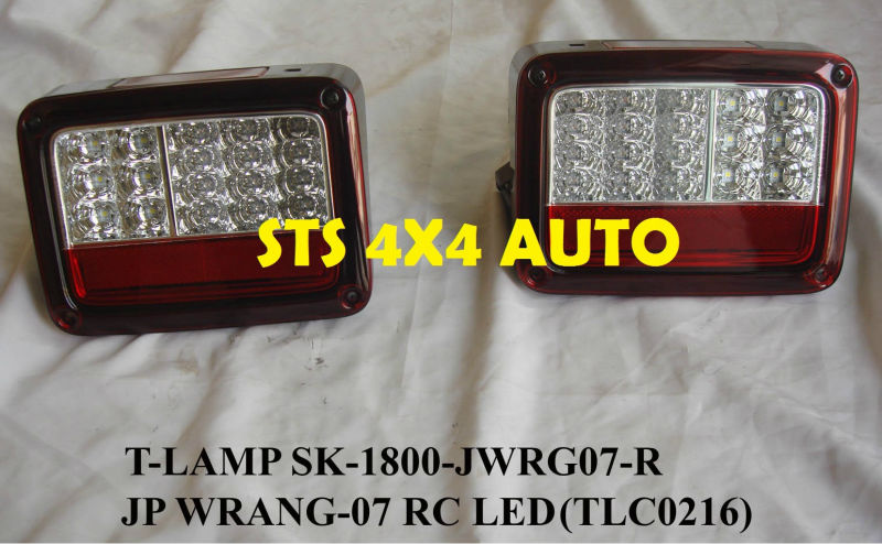 LED TAIL LAMP JEEP WRANGLER 2007+