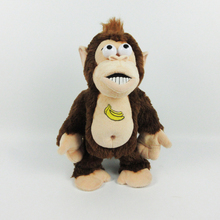 Good quality cheap price electronic plush animal monkey toy