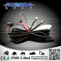 LED Driving light bar Wiring Harness Offroad Wiring Harness Kits