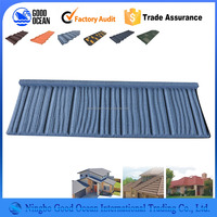 Professional manufacture competitive price fiberglass modified bitumen , 3-tab ocean blue asphalt roofing shingles