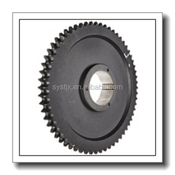Roller Chain Sprocket, Split Taper Bushed, Type B Hub