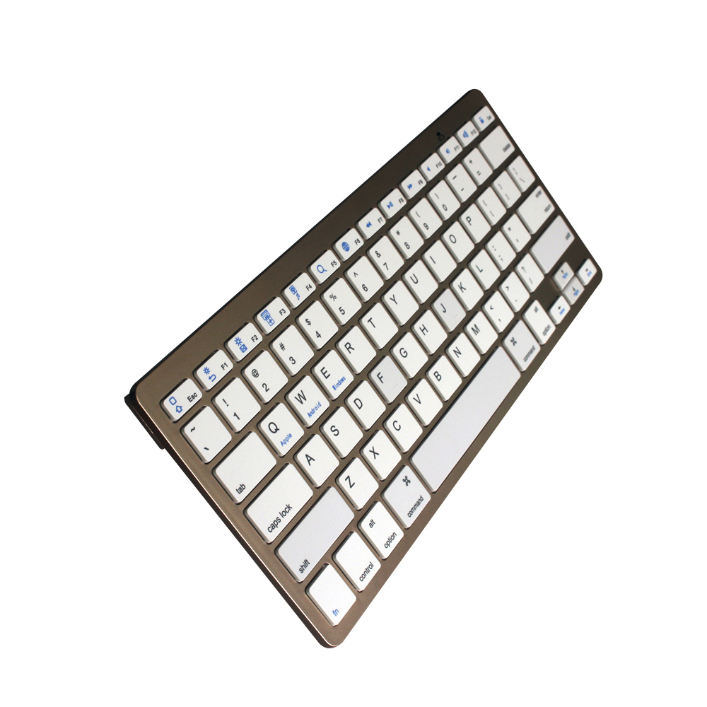 Free sample support 3 system bluetooth wireless keyboard with CE ROHS for android