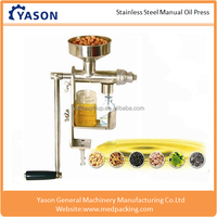 Manual Oil Press for Sunflower Seeds Sesame Peanut