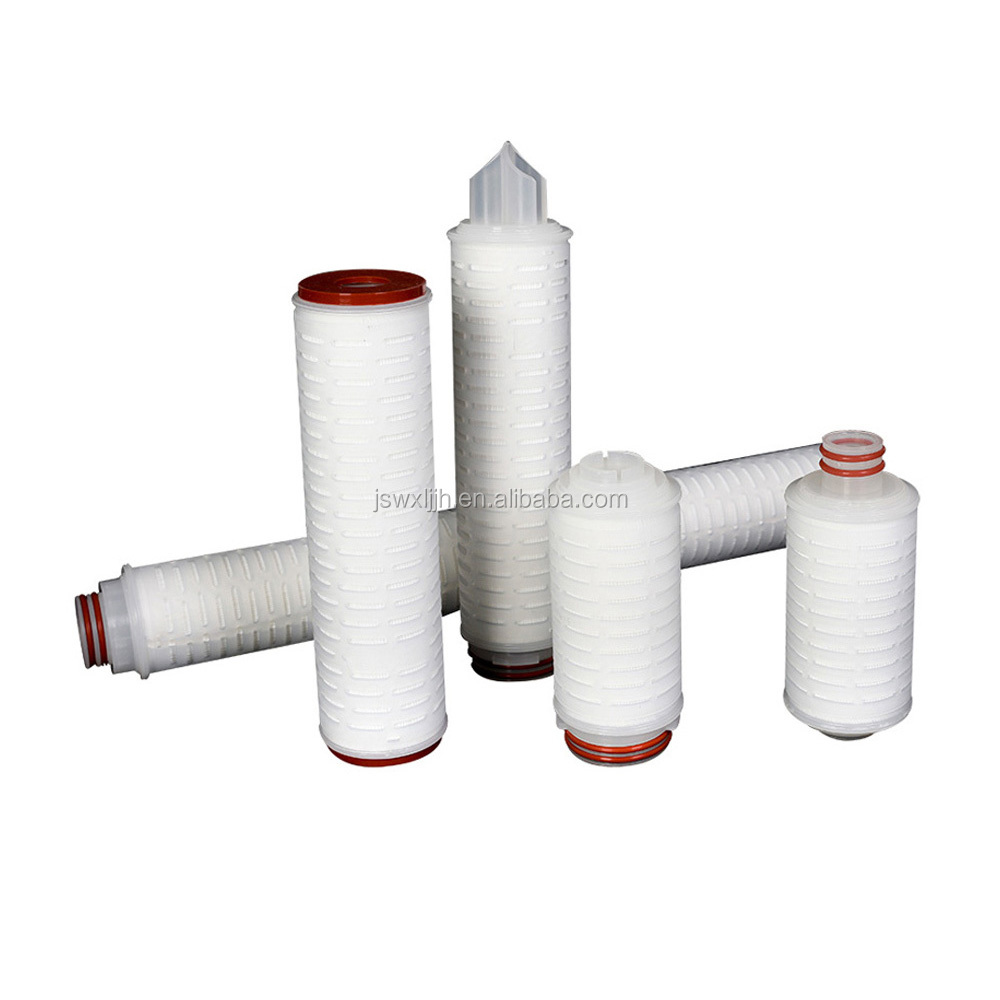 Manufacture for wine PP pleated filter cartridge, 0.1 micron pleated cartridge filter
