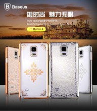 Baseus Royal Series 0.75mm Ultra-Thin fashion design effectively achieve shock drop Case For SAMSUNG GALAXY NOTE 4