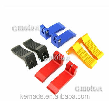 Mini Atv Dirtbike Spare Parts Aluminum Footpeg