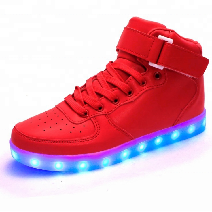 Fashion Party Sport Causal Shoes Latest LED Shoes