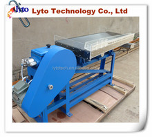 High Quality Small Scale Aluminium Alloy Shaking Table For Gold Mineral Concentrated Separation