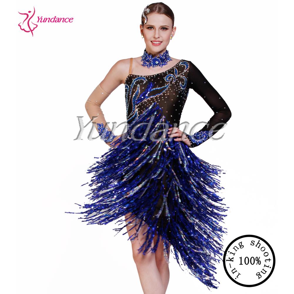 y 2016 danza vestido Salsa latino baile alegría qRCtEfwnq