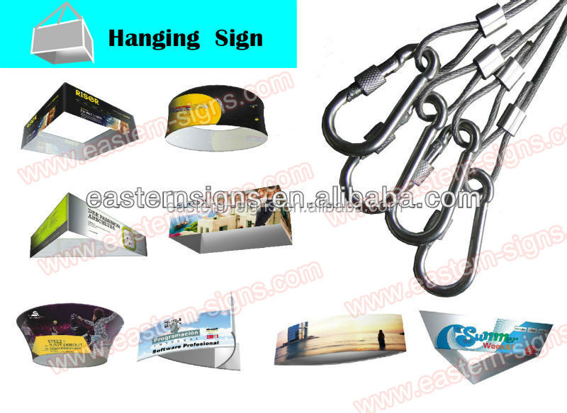 Dia 6ft Circular Hanging Banner Display