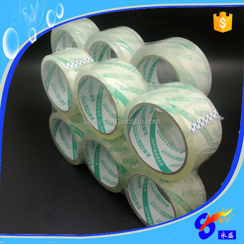 alibaba express china use 50mic adhesive packing tape super clear bopp tape